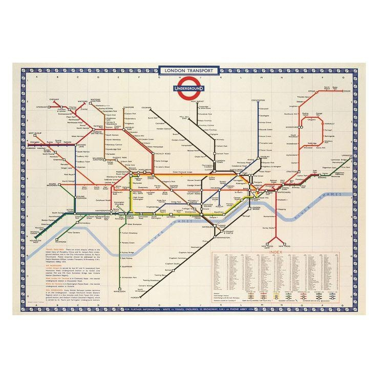 7 Best Dining Space Images On Pinterest | Dining Room, Room And Spaces With London Tube Map Wall Art (Image 5 of 20)