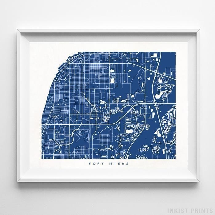70 Best Usa Street Map Wall Art Printinkist Prints (Image 5 of 20)