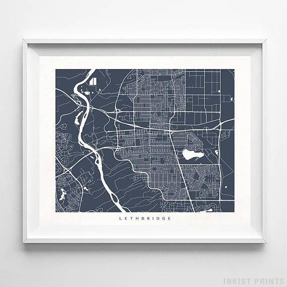8 Best Canada Street Map Wall Art Printinkist Prints (View 18 of 20)