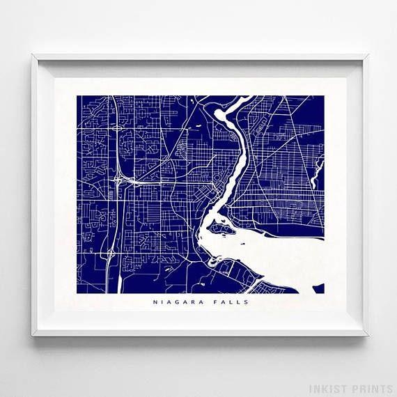 8 Best Canada Street Map Wall Art Printinkist Prints (View 20 of 20)