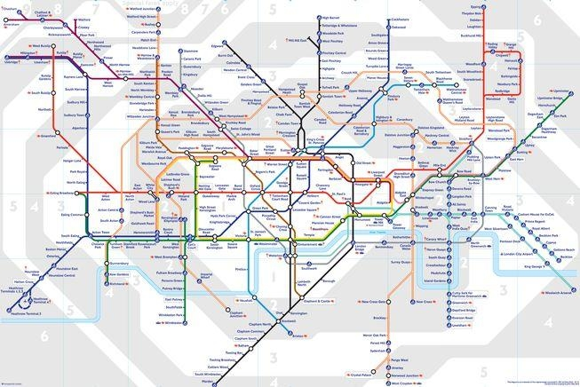 8 Subway Maps That Double As Works Of Art | Mnn – Mother Nature Inside London Tube Map Wall Art (Image 6 of 20)