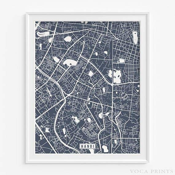 89 Best Foreign Street Map Prints Images On Pinterest | Art With Street Map Wall Art (Image 9 of 20)