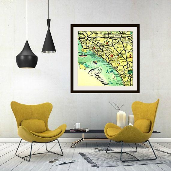 91 Best Vintage California Images On Pinterest | Vintage Within San Diego Map Wall Art (Image 7 of 20)