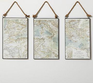 961 Best Maps Among Us. Images On Pinterest | Vintage Maps Throughout Nautical Map Wall Art (Photo 3 of 20)