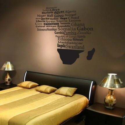 99 Best Africa Images On Pinterest | Africa, African Artwork And For Africa Map Wall Art (Photo 5 of 20)
