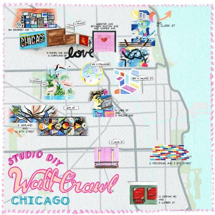 Best 25+ Chicago Map Ideas On Pinterest | Chicago City, Chicago With Chicago Neighborhood Map Wall Art (Image 2 of 20)