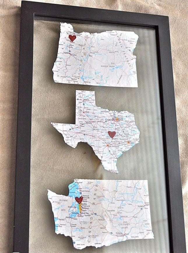 Best 25+ Map Art Ideas On Pinterest | Diy Dorm Decor, State Art For Metro Map Wall Art (Image 6 of 20)