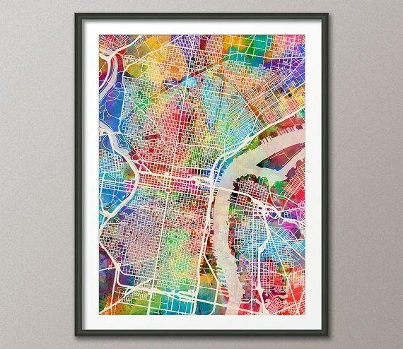 Best 25+ Philadelphia Map Ideas On Pinterest | Maps S, Map Of In Philadelphia Map Wall Art (Image 5 of 20)
