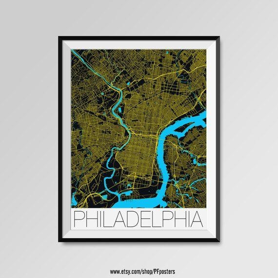 Best 25+ Philadelphia Map Ideas On Pinterest | Maps S, Map Of With Regard To Philadelphia Map Wall Art (Image 14 of 20)