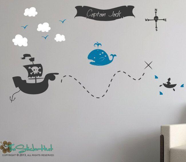 Best 25+ Pirate Treasure Maps Ideas On Pinterest | Pirate Treasure In Treasure Map Wall Art (Image 2 of 20)