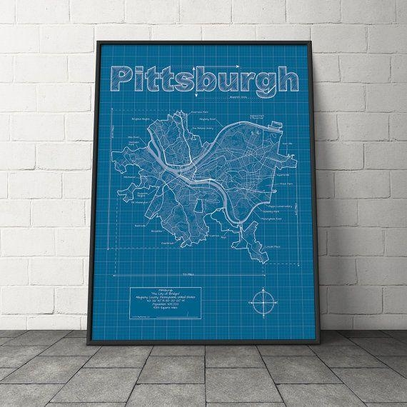 Best 25+ Pittsburgh Map Ideas On Pinterest | Pittsburgh Art For Pittsburgh Map Wall Art (Image 5 of 20)