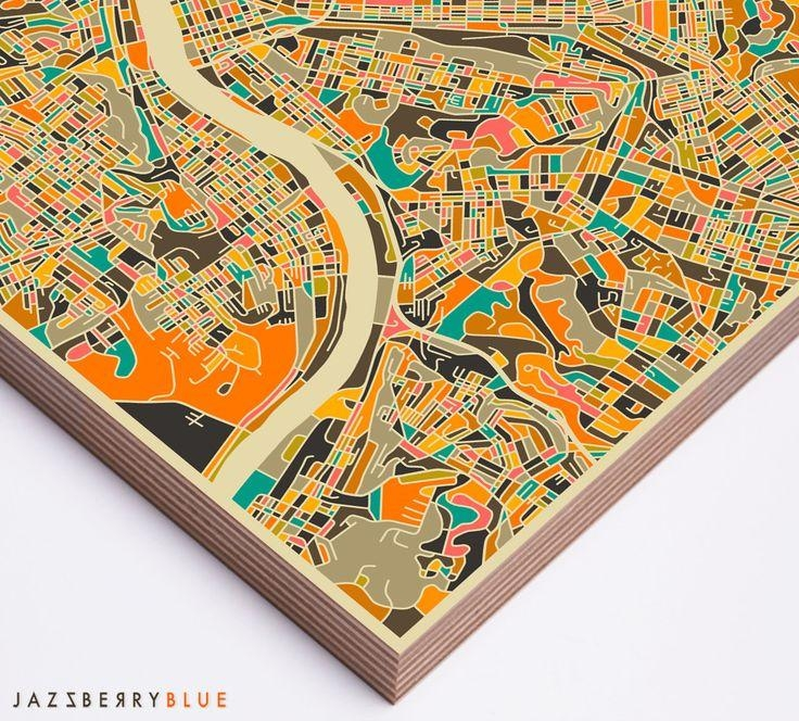 Best 25+ Pittsburgh Map Ideas On Pinterest | Pittsburgh Art Intended For Pittsburgh Map Wall Art (Image 7 of 20)