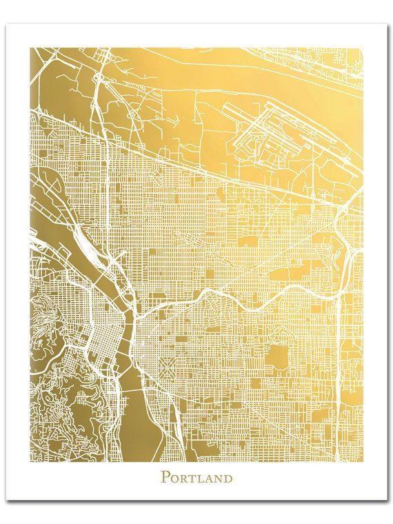Best 25+ Portland Map Ideas On Pinterest   Map Of Portland Oregon With Regard To Portland Map Wall Art (Image 4 of 20)