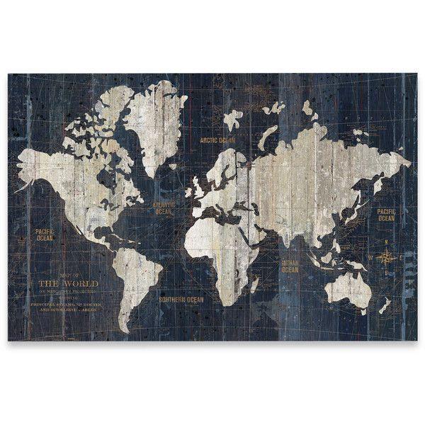 Best 25+ World Map Wall Art Ideas On Pinterest | World Map Wall With Cool Map Wall Art (Image 13 of 20)