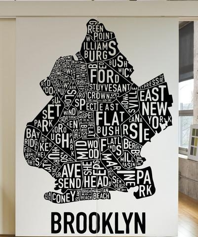 Brooklyn Wall Art | Himalayantrexplorers With Regard To Brooklyn Map Wall Art (Image 9 of 20)
