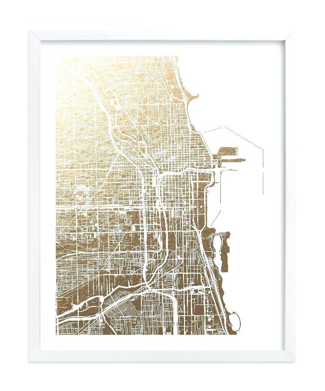 Chicago Map Wall Art Chicago Neighborhood Map Wall Art – Hydroloop Within Chicago Neighborhood Map Wall Art (Image 11 of 20)