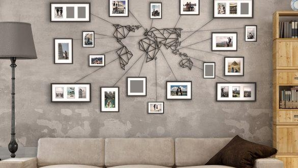 Cool Design Ideas Map Wall Art Diy Canvas Uk Etsy Antique Maps With Map Wall Art Canada (View 10 of 20)