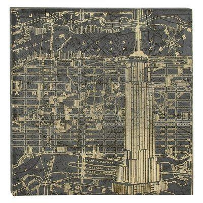 Decmode New York Map Wall Art – 52064 | Products | Pinterest With Regard To New York Map Wall Art (Image 5 of 20)
