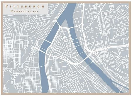 Hot Trend: City Pride At Home With Street Map Wall Art (Image 15 of 20)