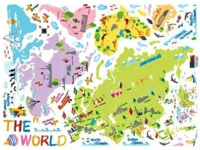 Incultureparent | 10 Best World Maps For Your Children's Room With Regard To Kids World Map Wall Art (Image 10 of 20)