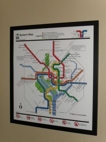 Maps For People Who Love Dc | We Love Dc Regarding Metro Map Wall Art (Image 9 of 20)