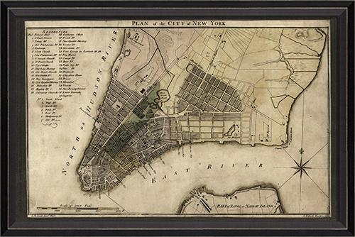 New York Map Wall Decor – 28 Images – Shop New York Room Decor On Pertaining To New York Map Wall Art (Photo 11 of 20)