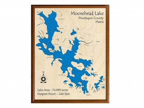 Personalized Wall Art And Cribbage Boards From Lake Art – The Intended For Lake Map Wall Art (View 11 of 20)