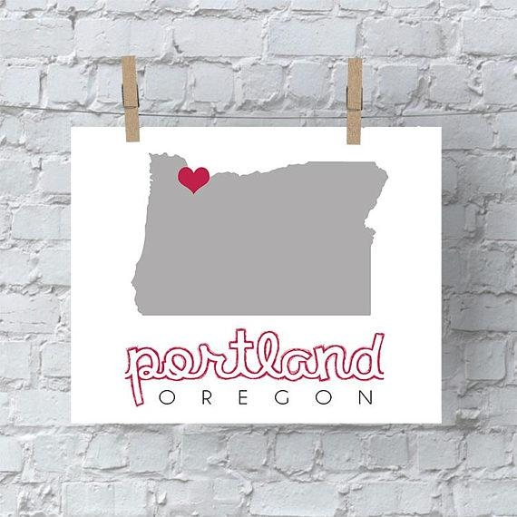 Portland Map Wall Art Portland Wall Art Portland Map Oregon With Portland Map Wall Art (View 8 of 20)