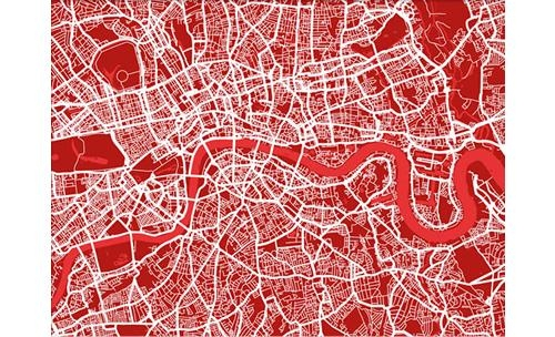 Search Results For – City Maps Throughout Street Map Wall Art (Image 18 of 20)
