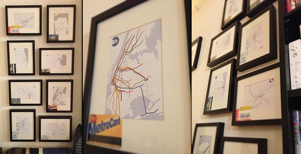 Featured Image of Subway Map Wall Art