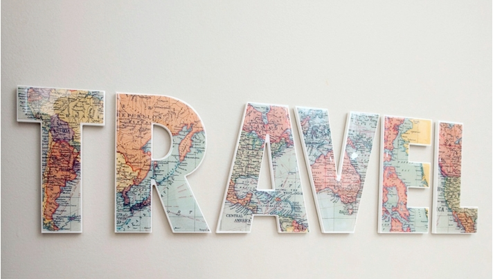 The Best Travel Gifts On Etsy | Maps & Much More | Tmt Regarding Travel Map Wall Art (Image 13 of 20)