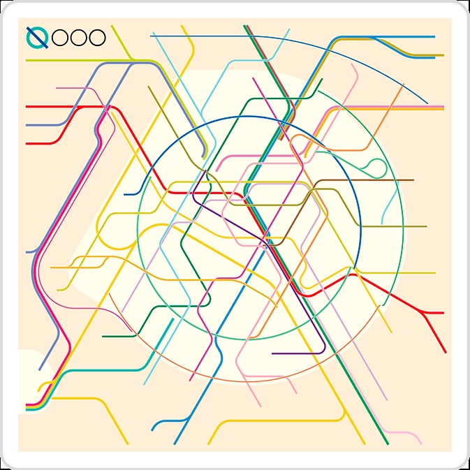 The New Paris Metro Map In Metro Map Wall Art (Image 18 of 20)