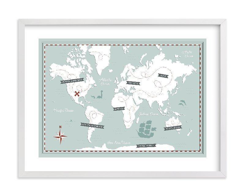 Treasure Map Wall Art Printsjessie Steury | Minted Within Treasure Map Wall Art (Image 15 of 20)