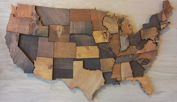 Unthinkable Wood Map Wall Art World Etsy My Wall Of Life Within Wood Map Wall Art (Image 8 of 20)