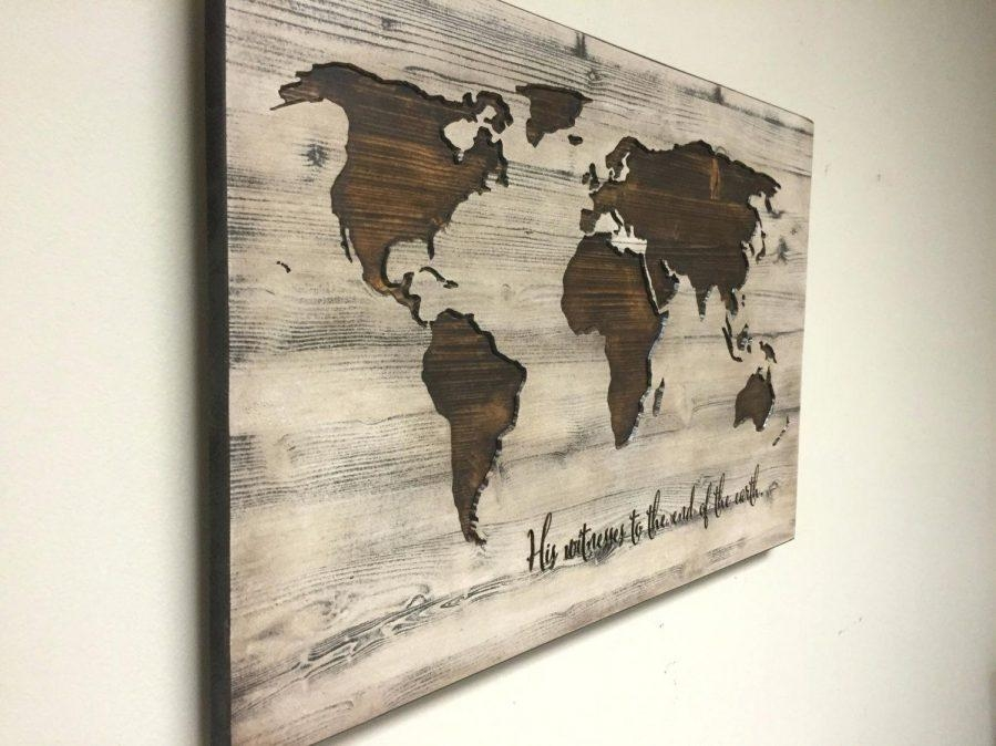 Us Map Canvas Wall Art Wooden United States Map Wall Art United Pertaining To Wood Map Wall Art (Image 9 of 20)