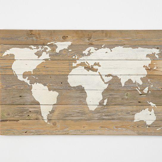 Wall Art Designs: Wooden World Map Wall Art World Map Canvas World Inside World Map Wall Art (View 6 of 20)