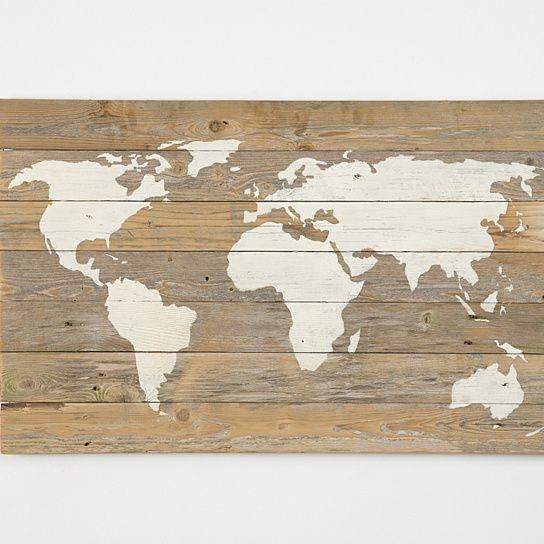 Wall Art Designs: Wooden World Map Wall Art World Map Canvas World Intended For Worldmap Wall Art (Image 14 of 20)