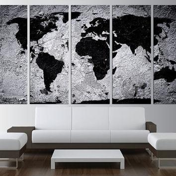 20 photos world map wall art canvas wall art ideas wall art designs world map wall art large world map canvas print in world map gumiabroncs Choice Image