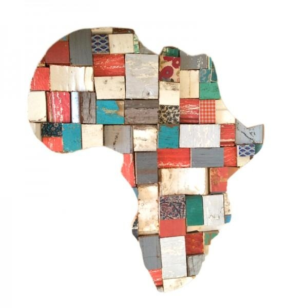 Wall Art | Product Categories | Shakethedust Pertaining To Africa Map Wall Art (Image 14 of 20)