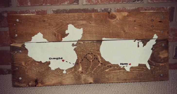 Wall Arts ~ Diy String Map Wall Art World Maps For Wall Art World Intended For String Map Wall Art (Image 13 of 20)