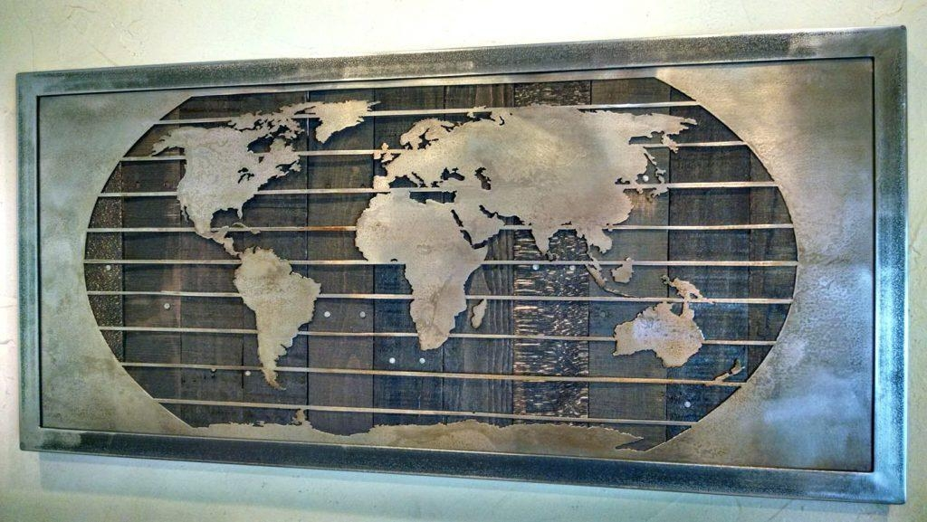 Wall Arts ~ World Map Wall Art Stickers Map Wall Art Uk World Map Inside Map Wall Art Canada (View 19 of 20)