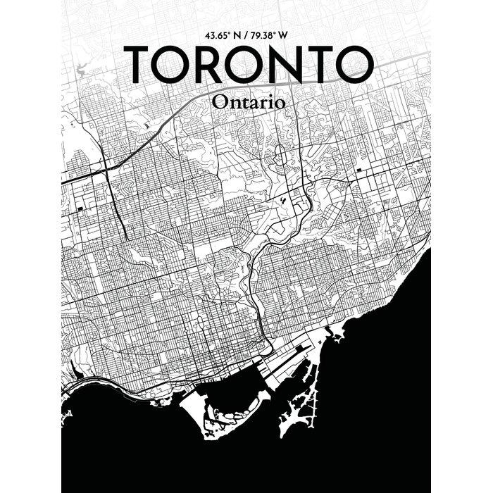 World Map Wall Art For Toronto Map Wall Art (Image 19 of 20)