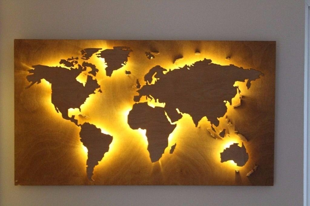 World Map Wall Art — Rs Floral Design : Diy Mural World Map Wall Art In World Map Wall Art (Photo 15 of 20)