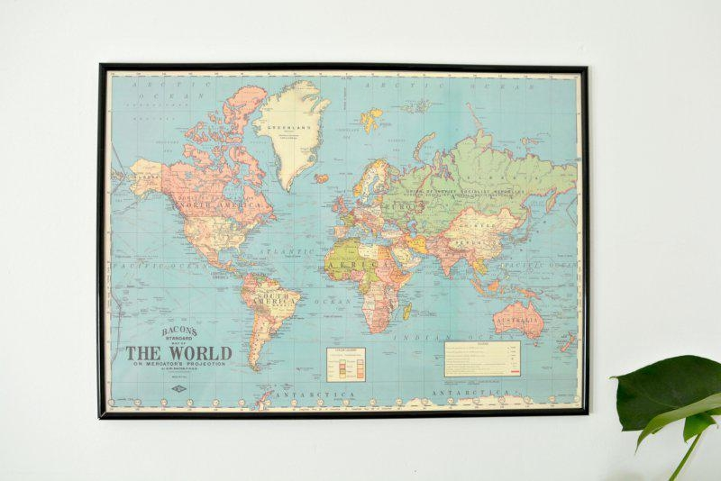 World Map Wall Art South Africa Masata Design : Simple Way To Diy Pertaining To Africa Map Wall Art (Image 19 of 20)