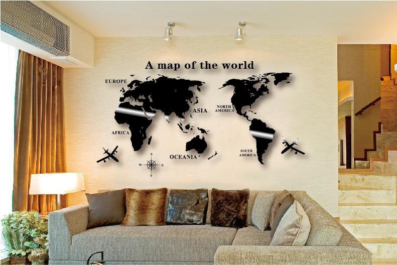 World Map Wall Art South Africa Masata Design : Simple Way To Diy Within Africa Map Wall Art (Image 20 of 20)