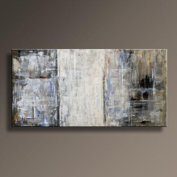117 Best Abstract Painting Images On Pinterest | Painting Abstract With Regard To Blue And Brown Abstract Wall Art (Image 1 of 20)