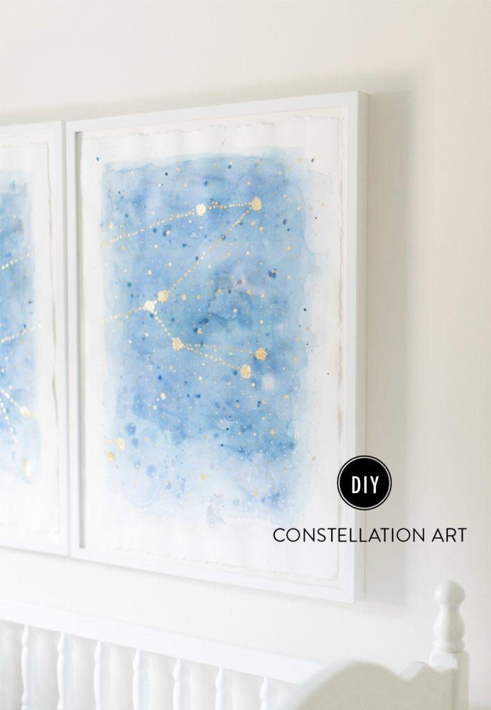 13 Creative Diy Abstract Wall Art Projects – Lolly Jane With Diy Abstract Wall Art (Image 3 of 20)