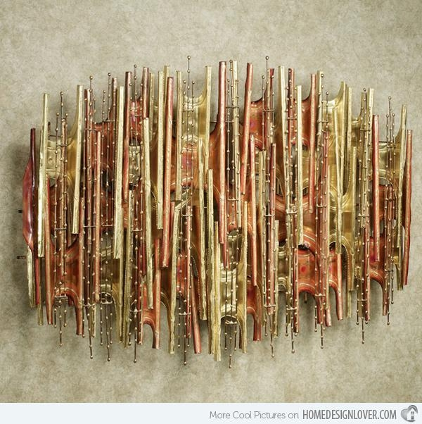 15 Modern And Contemporary Abstract Metal Wall Art Sculptures With Regard To Sculpture Abstract Wall Art (Image 1 of 20)