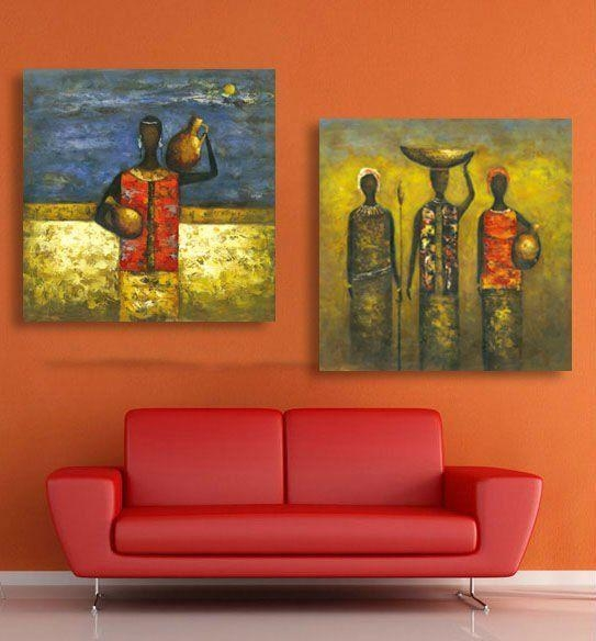 18 Best African Art Images On Pinterest | Africa Art, African Art Intended For Abstract African Wall Art (Image 1 of 20)