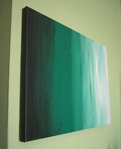 25 Creative And Easy Diy Canvas Wall Art Ideas With Diy Abstract Canvas Wall Art (Photo 9 of 20)